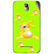 Snooky 46403 Digital Print Mobile Skin Sticker For Micromax Canvas Entice A105 - Green