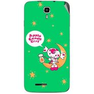 Snooky 46680 Digital Print Mobile Skin Sticker For Micromax Canvas Juice A177 - Green