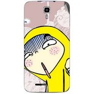 Snooky 46705 Digital Print Mobile Skin Sticker For Micromax Canvas Juice A177 - Multicolour