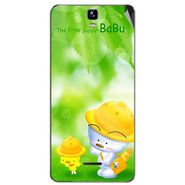 Snooky 46714 Digital Print Mobile Skin Sticker For Micromax Canvas HD Plus A190 - Green