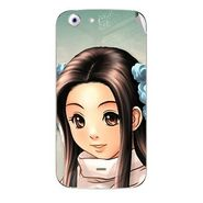 Snooky 46743 Digital Print Mobile Skin Sticker For Micromax Canvas 4 A210 - Multicolour