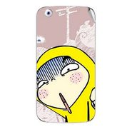 Snooky 46769 Digital Print Mobile Skin Sticker For Micromax Canvas 4 A210 - Multicolour