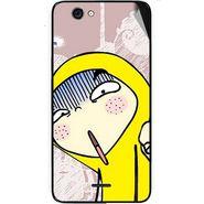 Snooky 46833 Digital Print Mobile Skin Sticker For Micromax Canvas knight cameo A290 - Multicolour