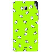 Snooky 46882 Digital Print Mobile Skin Sticker For Micromax Canvas Nitro A310 - Green