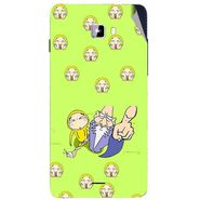 Snooky 46930 Digital Print Mobile Skin Sticker For Micromax Canvas Nitro A311 - Green