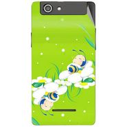 Snooky 47194 Digital Print Mobile Skin Sticker For Xolo A500s - Green