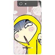 Snooky 47216 Digital Print Mobile Skin Sticker For Xolo A500s - Multicolour