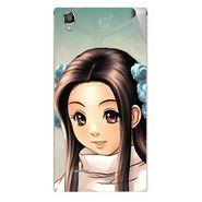 Snooky 47286 Digital Print Mobile Skin Sticker For Xolo A550S IPS - Multicolour