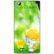 Snooky 47321 Digital Print Mobile Skin Sticker For Xolo A600 - Green