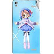 Snooky 47366 Digital Print Mobile Skin Sticker For Xolo A1000S - Blue