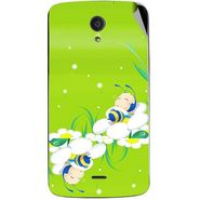 Snooky 47450 Digital Print Mobile Skin Sticker For Xolo Omega 5.5 - Green