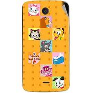 Snooky 47455 Digital Print Mobile Skin Sticker For Xolo Omega 5.5 - Yellow