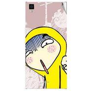 Snooky 47568 Digital Print Mobile Skin Sticker For Xolo Q600s - Multicolour