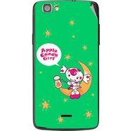 Snooky 47575 Digital Print Mobile Skin Sticker For Xolo Q610s - Green