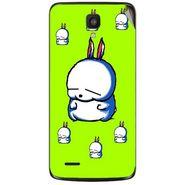 Snooky 47613 Digital Print Mobile Skin Sticker For Xolo Q700 - Green