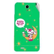 Snooky 47703 Digital Print Mobile Skin Sticker For Xolo Q900 - Green