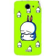 Snooky 47773 Digital Print Mobile Skin Sticker For Xolo Q1000 - Green