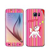 Snooky 48223 Digital Print Mobile Skin Sticker For Samsung Galaxy S6 - Pink