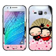 Snooky 48338 Digital Print Mobile Skin Sticker For Samsung Galaxy J1 - Multicolour