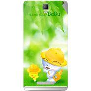 Snooky 48344 Digital Print Mobile Skin Sticker For Lava Iris Fuel 50 - Green