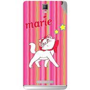 Snooky 48351 Digital Print Mobile Skin Sticker For Lava Iris Fuel 50 - Pink