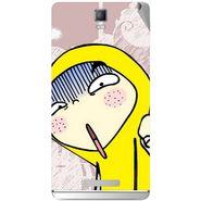Snooky 48367 Digital Print Mobile Skin Sticker For Lava Iris Fuel 50 - Multicolour