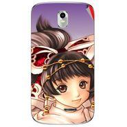Snooky 48372 Digital Print Mobile Skin Sticker For Lava Iris 402 Plus - Multicolour