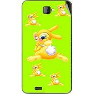 Snooky 48481 Digital Print Mobile Skin Sticker For Lava Iris 502 - Green