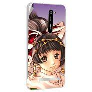 Snooky 48500 Digital Print Mobile Skin Sticker For Lava Iris 503 - Multicolour