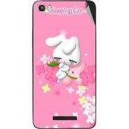 Snooky 48631 Digital Print Mobile Skin Sticker For Lava Iris X8 - Pink
