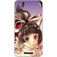 Snooky 48788 Digital Print Mobile Skin Sticker For Lava Iris X1 - Multicolour