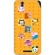 Snooky 48862 Digital Print Mobile Skin Sticker For Lava Iris X1 Grand - Yellow