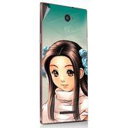 Snooky 48885 Digital Print Mobile Skin Sticker For Lava Magnum X604 - Multicolour