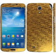 Snooky 18284 Mobile Skin Sticker For Samsung Galaxy Mega 6.3 GT I9200 - Gold