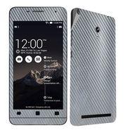 Snooky 20514 Mobile Skin Sticker For Asus Zenfone 6 - silver