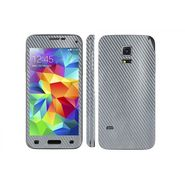 Snooky 20670 Mobile Skin Sticker For Samsung Galaxy S5 Mini - silver