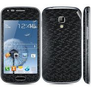 Snooky 20521 Mobile Skin Sticker For Samsung Galaxy S Duos 7562 - Black