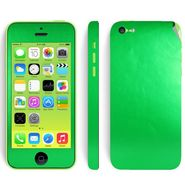 Snooky 20683 Mobile Skin Sticker For Apple Iphone 5C - Green