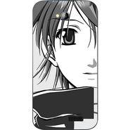 Snooky 42450 Digital Print Mobile Skin Sticker For Micromax Bolt A089 - Grey