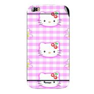 Snooky 42723 Digital Print Mobile Skin Sticker For Micromax Canvas Doodle 2 A240 - Pink