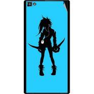 Snooky 42834 Digital Print Mobile Skin Sticker For XOLO 8X 1000 Hive - Blue