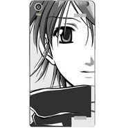 Snooky 42923 Digital Print Mobile Skin Sticker For XOLO A1000S - Grey