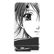 Snooky 43044 Digital Print Mobile Skin Sticker For Xolo Q900 - Grey