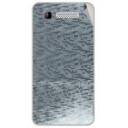 Snooky 43157 Mobile Skin Sticker For Intex Aqua 3g - silver