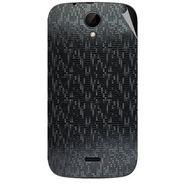 Snooky 43236 Mobile Skin Sticker For Intex Aqua i3 - Black