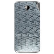Snooky 43289 Mobile Skin Sticker For Intex Aqua i14 - silver