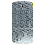 Snooky 43337 Mobile Skin Sticker For Intex Aqua N4 - silver