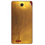 Snooky 43461 Mobile Skin Sticker For Intex Aqua Star Hd - Golden