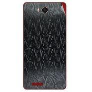 Snooky 43464 Mobile Skin Sticker For Intex Aqua Star Hd - Black