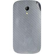 Snooky 43518 Mobile Skin Sticker For Intex Aqua T2 - silver